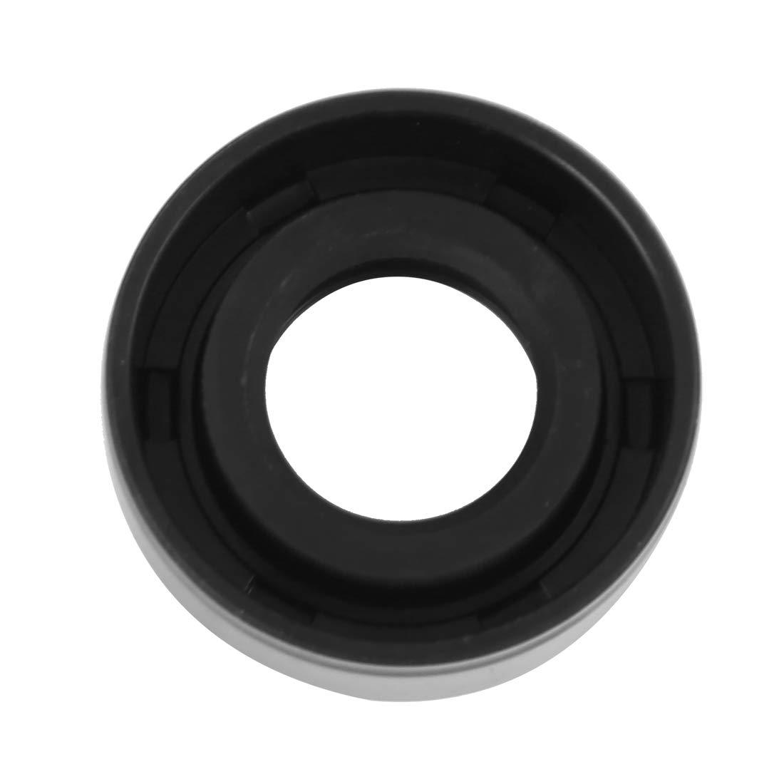 X AUTOHAUX 15mm X 30mm X 10mm Gomma Labbro Doppia TC Olio Guarnizione Albero per Auto