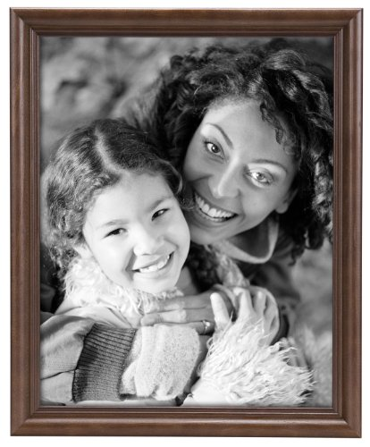 (MCS Traditional Solid Wood 16x20 Inch Collage Frame, Walnut)