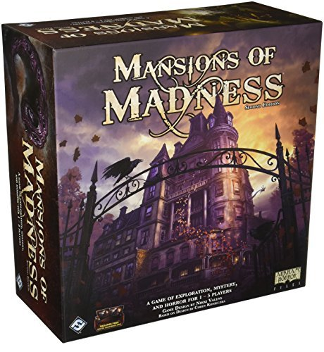 Last Day Of Halloween Haunt (Mansions of Madness Board Game, 2nd)
