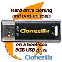 CloneZilla on 8GB USB Drive - System Backup and Cloning Solution similar to Norton Ghost