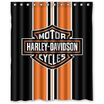 Bestselling Fashionable Bathroom Collection Custom Harley Davidson Shower  Curtain Bath Decor Curtain 60