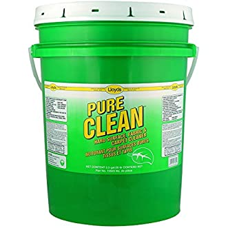 Pure clean Carpet & Fabric Cleaner, 72820, 20 L pail (5.25 gal)