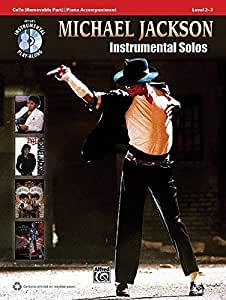 Michael Jackson: Instrumental Solos (Cello). CD, Partituras para Cello, Acompañamiento de Piano