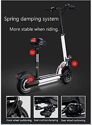 TKFY Scooters eléctricos Plegables 48V 8AH Batería de Litio ...