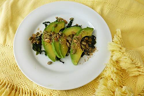 (Home Comforts Canvas Print Nuggets Avocado Salad Algae Avocado Vivid Imagery Stretched Canvas 32 x 24)