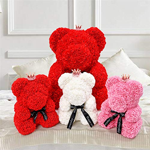 Bath & Shower Mascot Rose Flower Soap Bear 25cm Plush Toy Scented Bath Soap Romantic Lovers Valentines Day Birthday Gift Wedding Present Beauty & Health