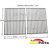 Hongso SCI812 stainless steel Rod Cooking Grid/Cooking Grates Replacement for Brinkmann, Grill Master, Nexgrill and Uniflame Gas Grills, Set of 2
