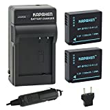 type 109 leica - Kapaxen Two High Capacity BP-DC15 Batteries & Charger Kit for Leica D-Lux (Type 109) Cameras