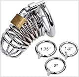 Top Quality Male Metal Chastity Devices/Cages Ring Lock Adult Games Sex Toys M200,M