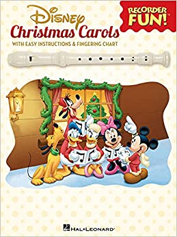 Disney Christmas Carols (Recorder Fun!)