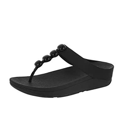 ed60e67086adee FitFlop Rola Sandals All Black UK6.5 All Black  Amazon.fr ...