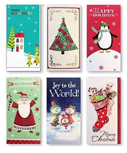 Assorted Embellished Christmas Penguins Stockings