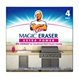 Mr. Clean Magic Eraser Extra Power Cleaning Pads, 4-Count Boxes (Pack of 4)