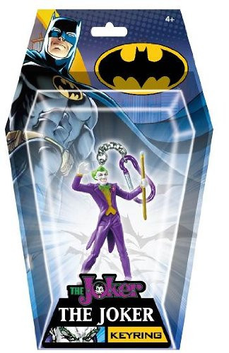 DC Joker Figural PVC Key Ring (Japan Figural)