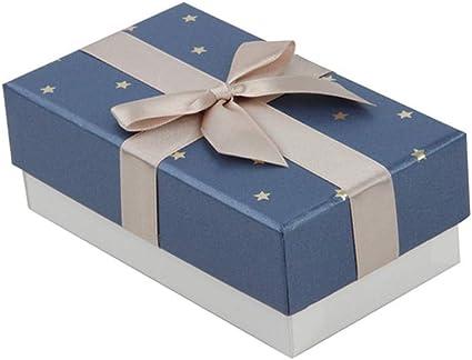 Westeng 1 Pieza Cajas de Regalo Rectangulares con Cinta y Lazo Elegantes Caja para Regalo Pequeña para Aniversario Boda Fiesta Comunion Navidad San Valentín Año Nuevo: Amazon.es: Oficina y papelería