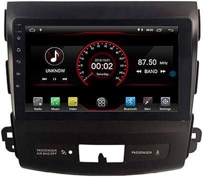 autosion 8 Inch unidad principal de Android 10 Radio de coche reproductor de DVD GPS navegación estéreo para Mitsubishi Outlander Citroen C-Crosser Peugeot 4007 Wifi: Amazon.es: Electrónica