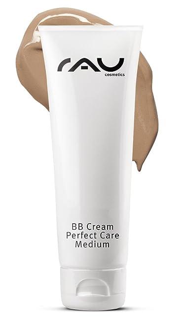 RAU BB Cream Perfect Care medium 75 ml - Gesichtspflege & Make-up in Einem - Perfekte Abdeckung + Pflege + UV-Schutz - mit Zi