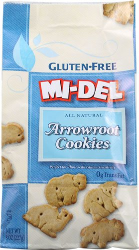 Mi-Del Arrowroot Cookies Gluten Free -- 8 oz - 2 pc