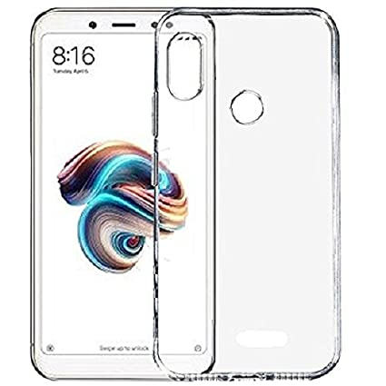best website 5e80b 09d98 Zedfo Case Transparent Back Cover For Redmi Note 5 Pro