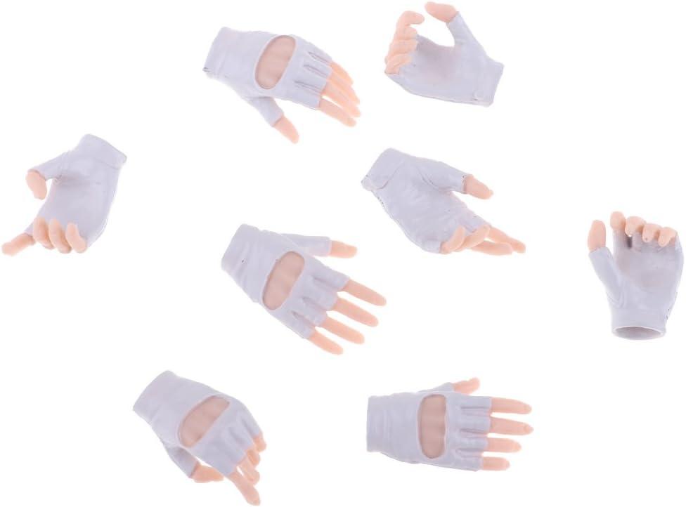1//6 échelle phicen corps féminin gants main pour 12 pouces figure d/'action