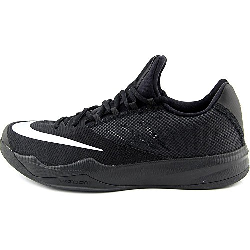 Nike Zoom Run The One, Scarpe da Basket Uomo Nero (Negro (Negro (Black/Metallic Silver)))