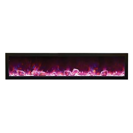 Sensational Amantii Outdoor Panorama Series Slim Electric Fireplace 72 Interior Design Ideas Philsoteloinfo