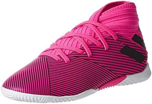 adidas Nemeziz 19.3 Indoor Boy's Soccer Shoes, Pink, 5.5 UK
