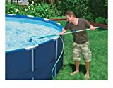 Cleaning Maintenance Swimming Pool Kit w/Vacuum Skimmer & Pole | 28002E