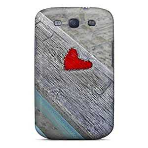 New Arrival Premium S3 Case Cover For Galaxy (red Love)