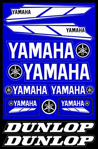 (Yamaha Decals Stickers Motorcycle Vinyl Graphic Set)