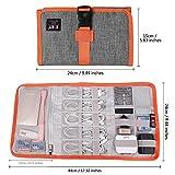 Electronic Organizer, BUBM Travel Cable Bag/USB