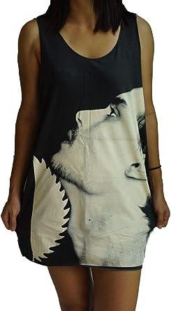 Megan Fox Vest Tank-Top Singlet Dress T-Shirt  Mens Womens Ladies