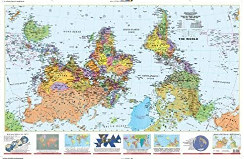 What S Up South 2x3 Paper Rolled World Map Lovell Johns