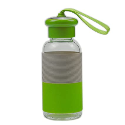 Botella de agua del vaso de bebida de vidrio Copa de agua portátil vidrio hervidor de