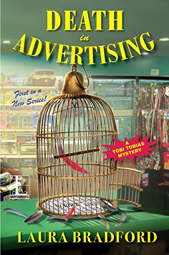 Death in Advertising (A Tobi Tobias Mystery Book 1)