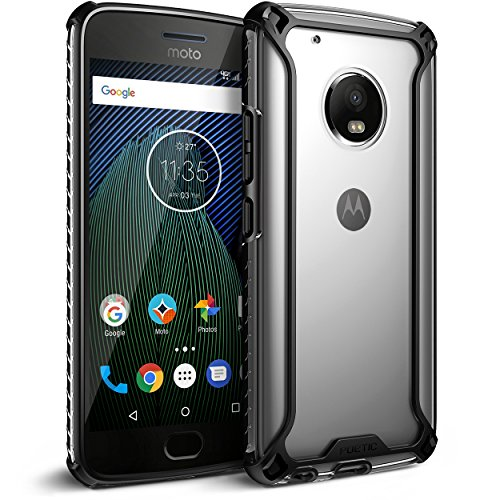 Poetic Affinity Slim Fit Moto G5 Plus Clear Case...