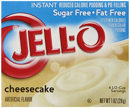 Serve Weight Watchers Pumpkin Mousse with Jell-O Sugar-Free Instant Pudding and Pie Filling, Cheesecake, 1-Ounce Boxes