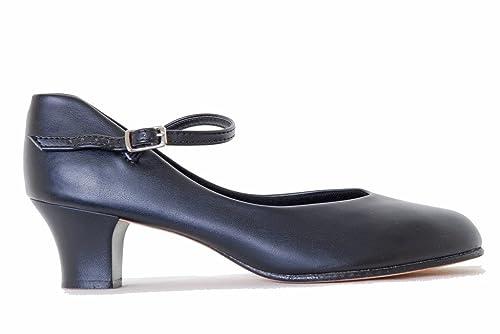 Capezio 550Junior Footlight Character/Stage, color negro, color Negro, talla 42