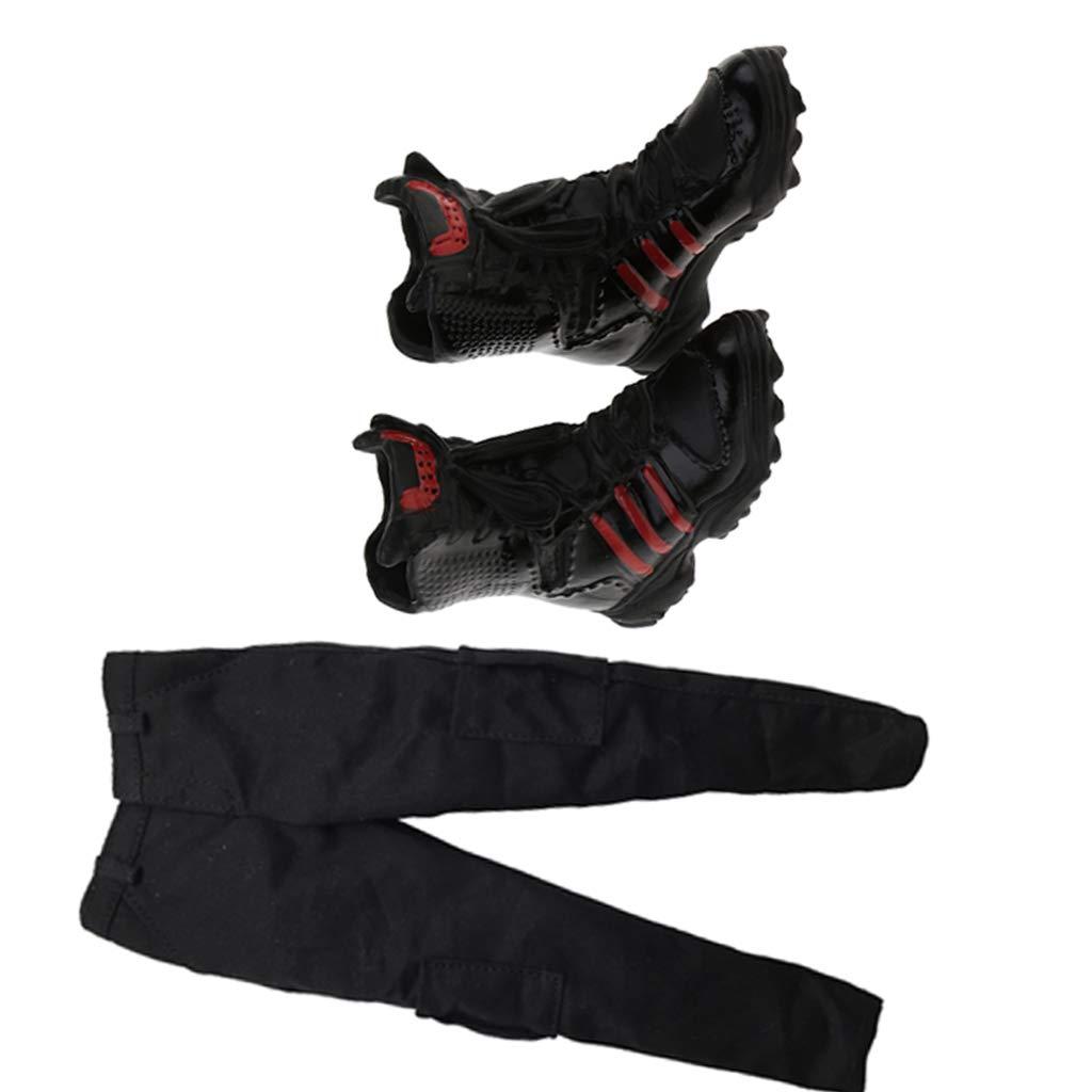 Non brand Pantaloni da 1//6 Pantaloni da Combattimento E Stivali da Combattimento per 12  HT Sideshow Enterbay