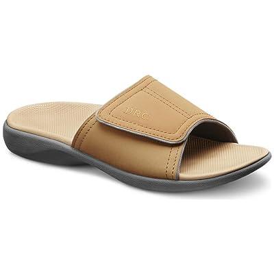 Dr. Comfort Women's Kelly Camel Sandals
