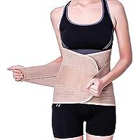REWI Faja Lumbar para Espalda, Cinturón de Soporte Lumbar Ayuda a Aliviar Dolor y Lesiones, Ciática, Hernia de Disco…