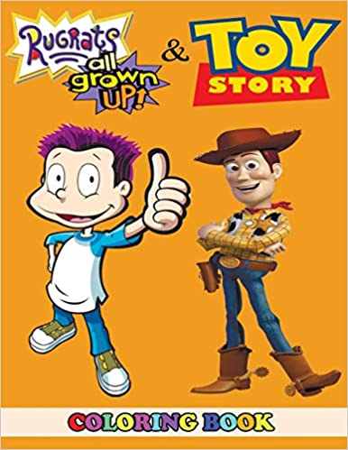 Amazon Com Rugrats All Grown Up And Toy Story Coloring