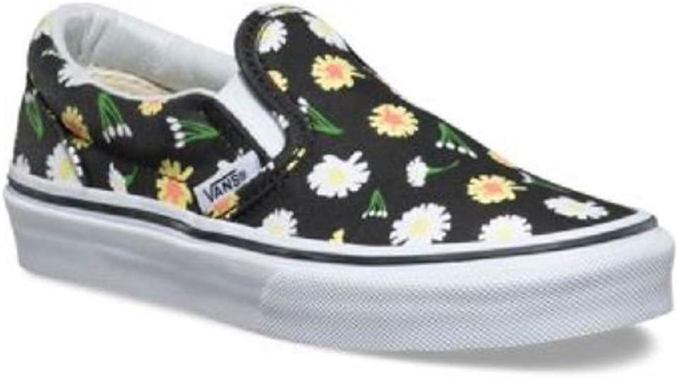 Vans Classic Slip On Daisy-Black
