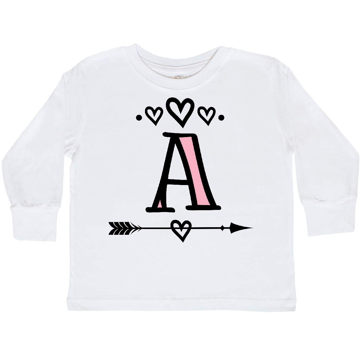 inktastic Letter a Monogram Tribal Arrow Toddler Long Sleeve T-Shirt