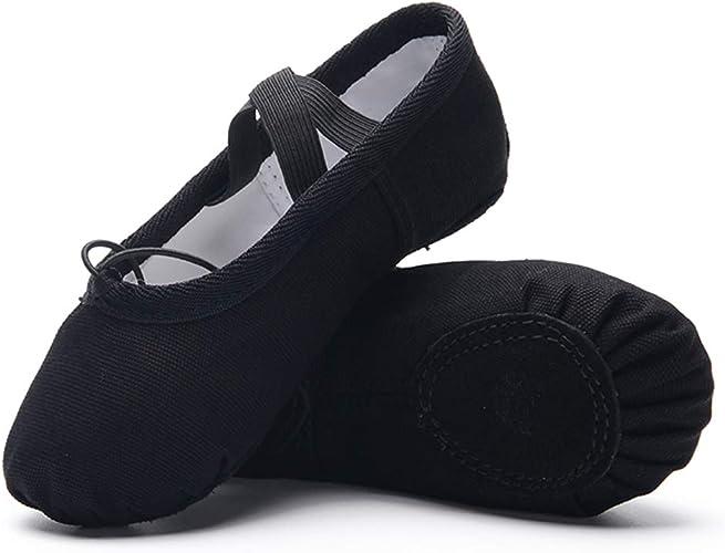 Amazon.com: Ruqiji Zapatos de Ballet para Niñas/Niños/Niños ...