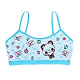 MEIYIN Teenage Girls Underwear Cotton Cartoon Panda KidsTraining Bra School Children Vest Bras Child Underclothes