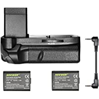 Neewer® Vertical Battery Grip with 2 Pieces LP-E10 Battery Replacement for Canon EOS 1100D / 1200D / 1300D/ Rebel T3 / T5 / T6