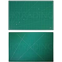 JKCraft Cutting Mat A0 Thick 5Ply Self Healing Craft 2 Side Print w Improved PVC Scrapbooking Quilting