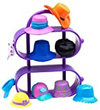 Polly Pocket ! Just Accessories and Display Case- High Styling Hats, Baby & Kids Zone