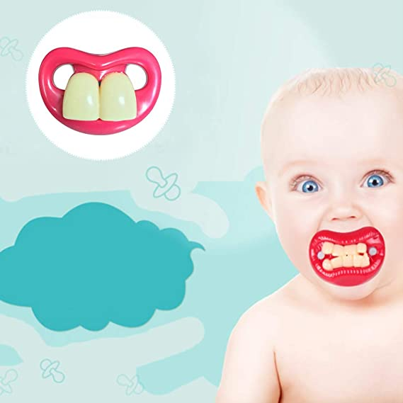BABY Funny Dummy chupete Toddler Dummy porta chupete chupete recién ...